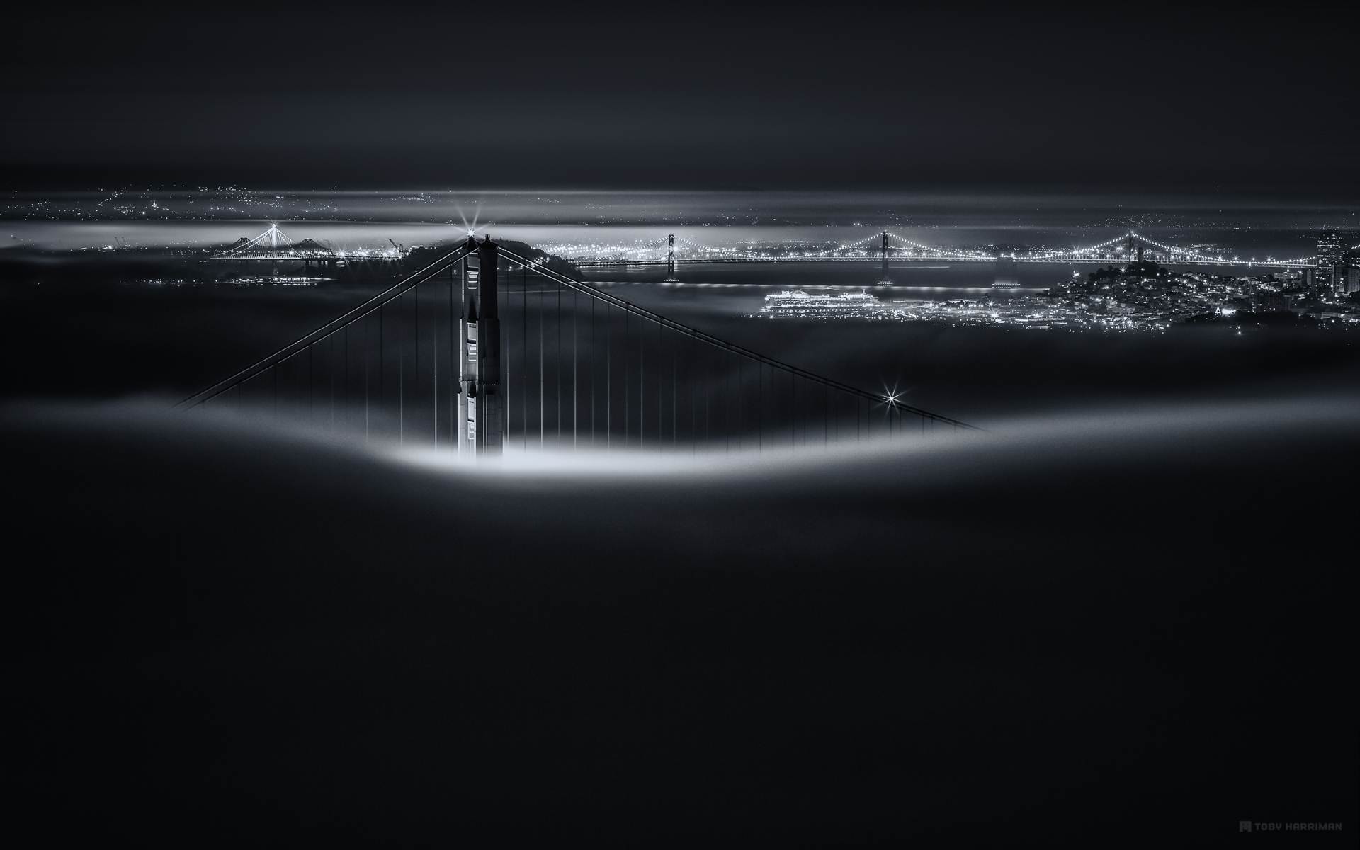 Golden Gate Bridge Toby Harriman Visuals