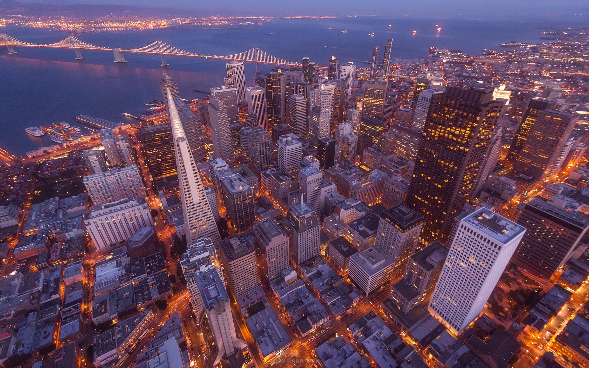 San Francisco, CA Aerial Photography - Toby Harriman