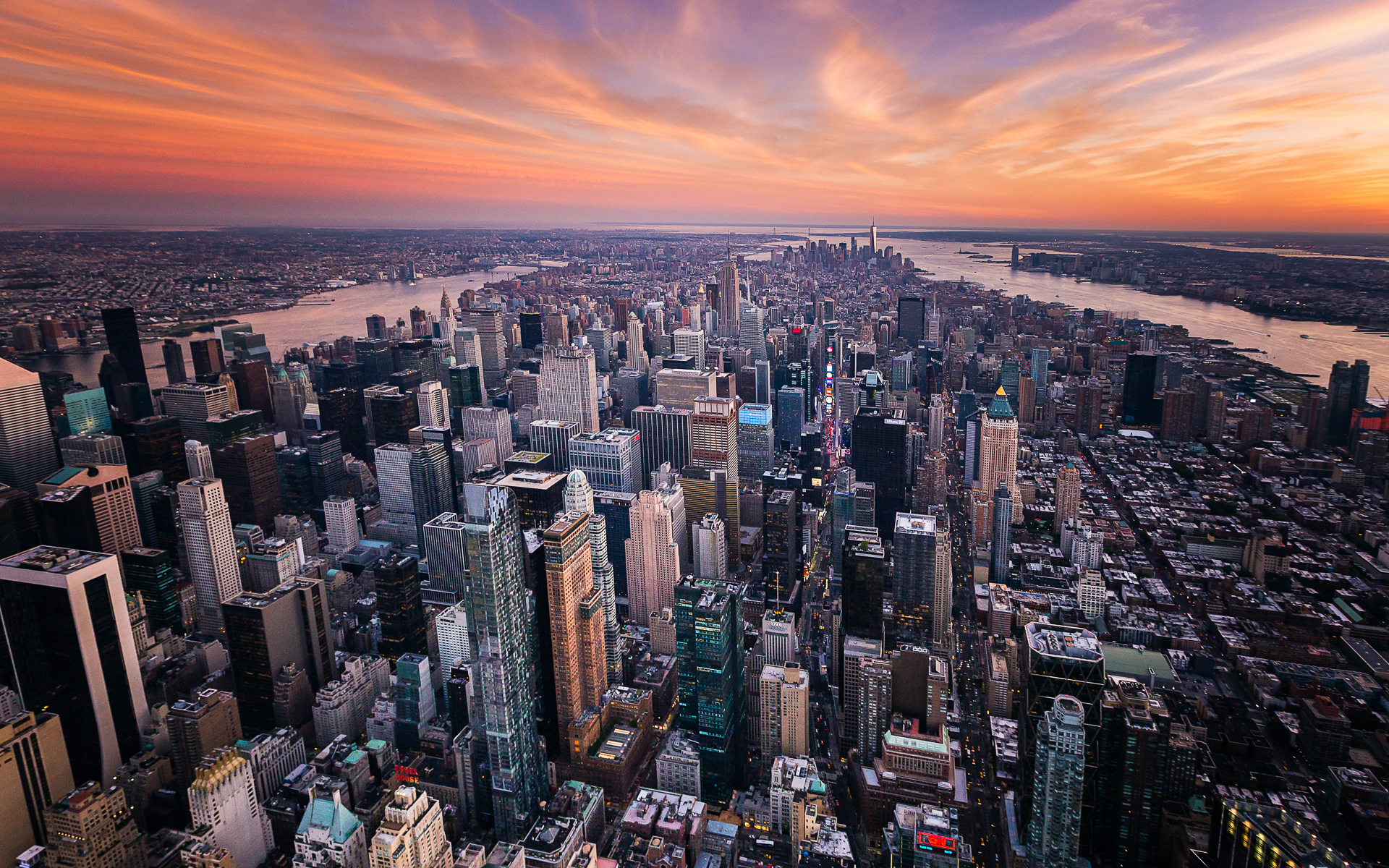 New York City Aerial Still Photography Toby Harriman