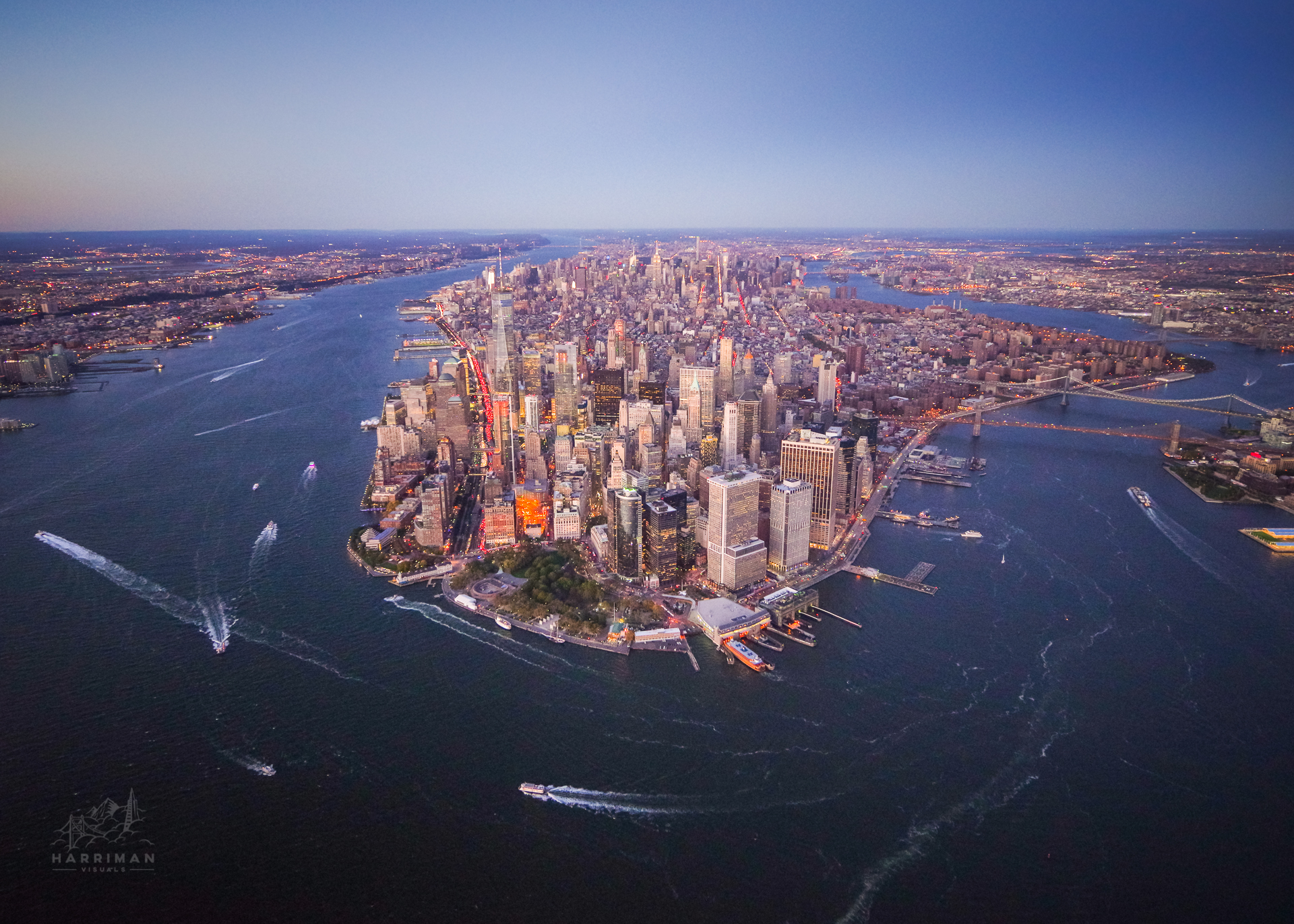 Above New York City