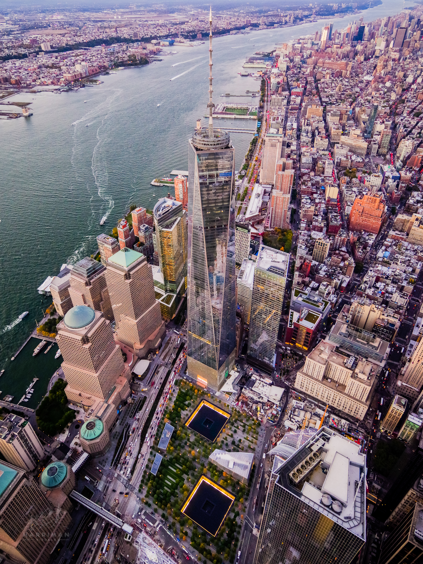 One World Trade Center Aerial