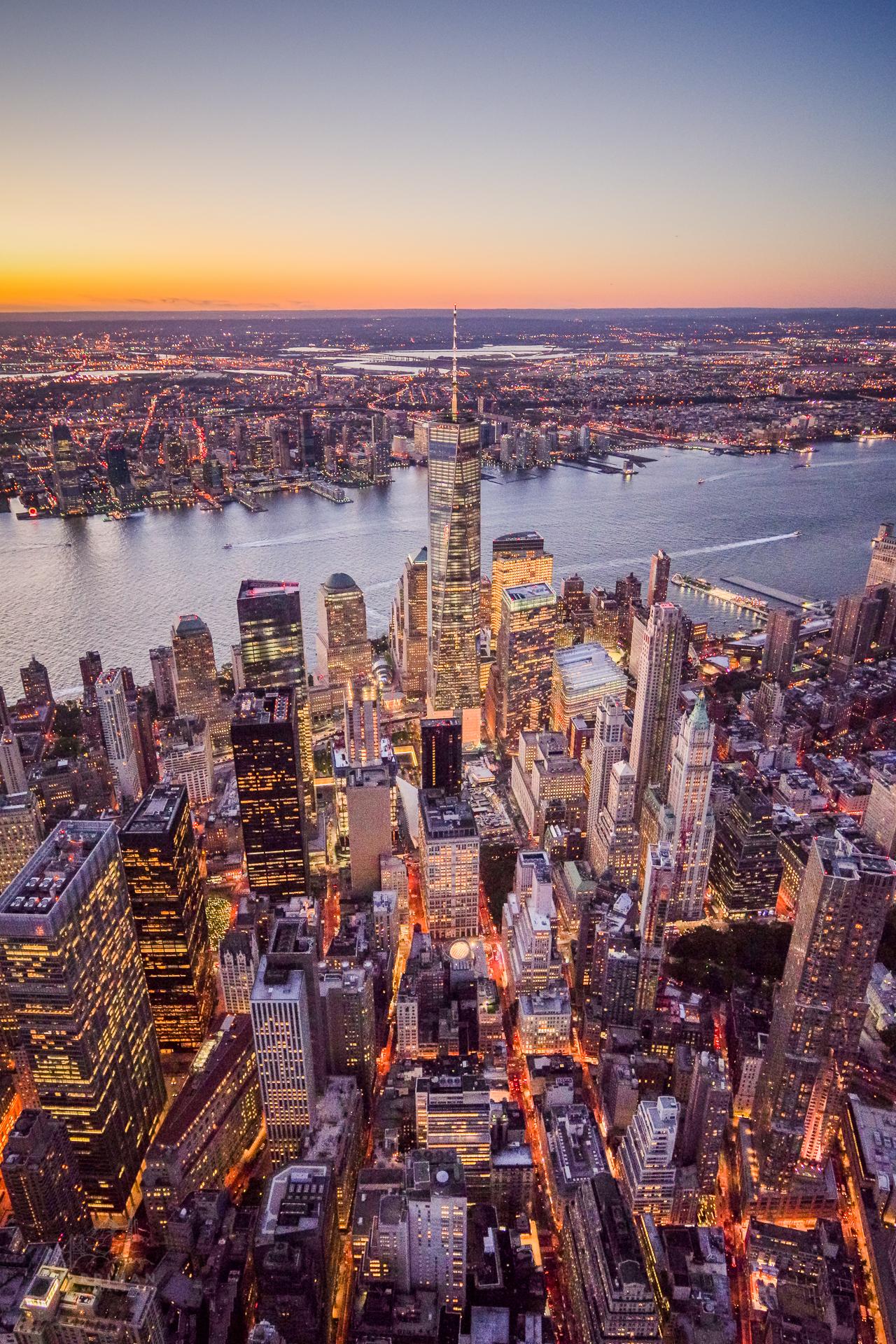 One World Trade Center Aerial