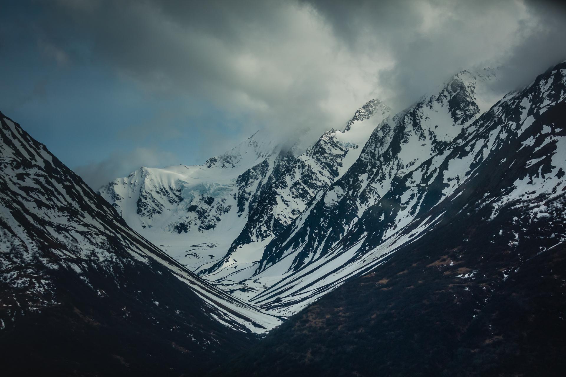 Mount Palmer Alaska Aerial