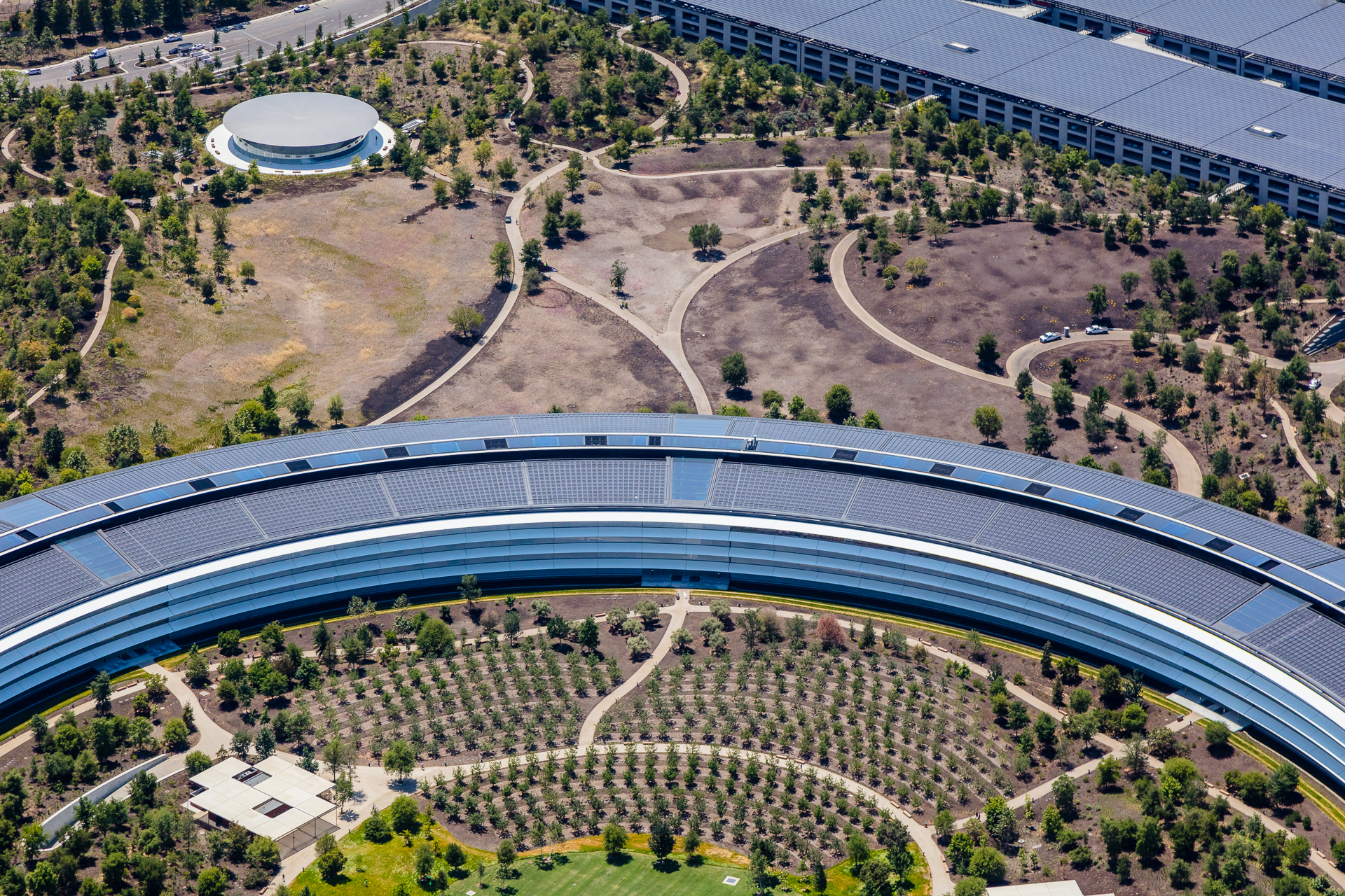 Apple Park Aerial Photography Toby Harriman Visuals